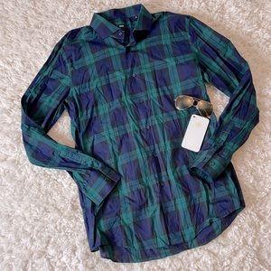 Hugo Boss Plaid Button Up Shirt